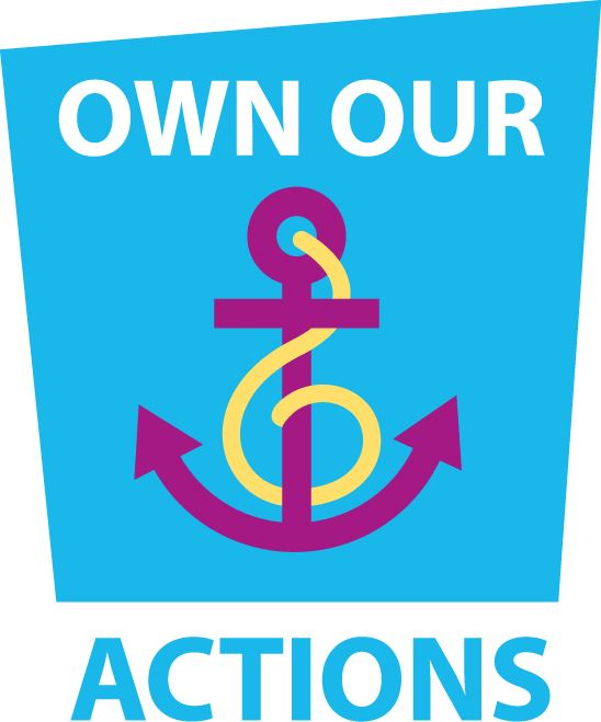 Own Our Actions logo