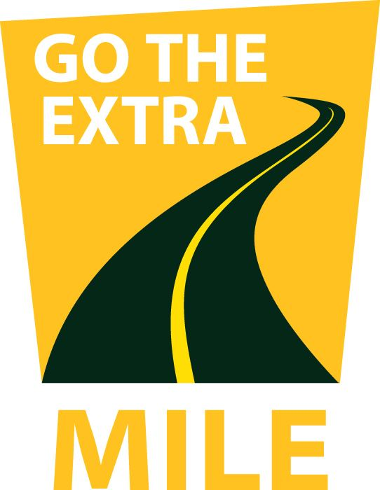 Go the Extra Mile logo